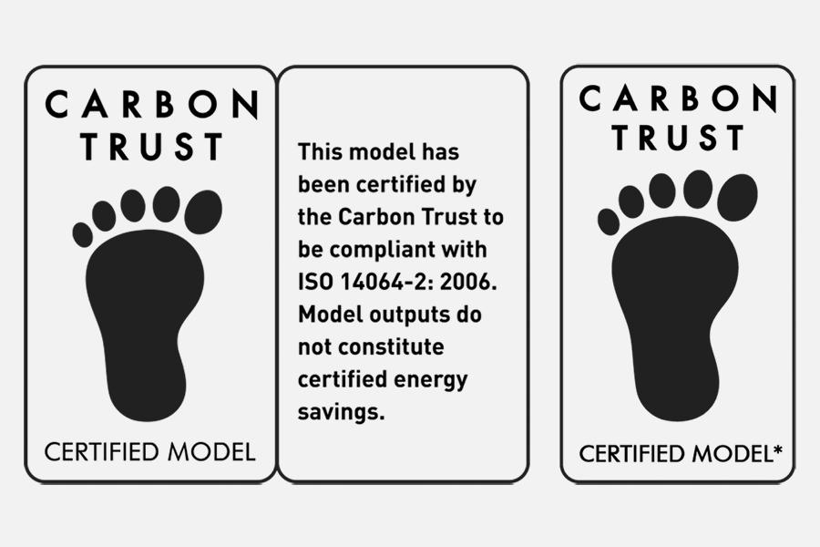 Carbon Trust Certified Model