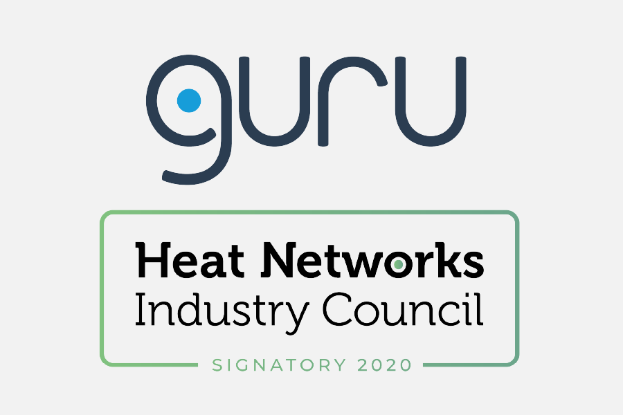 Guru Systems logo and Heat Networks Industry Council