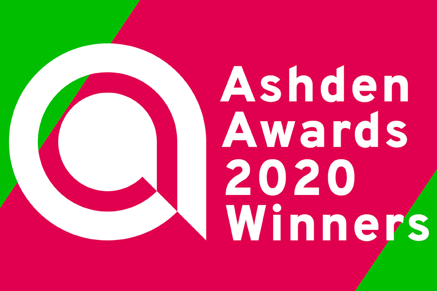Ashden Award 2020 Winners badge