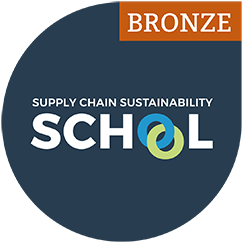 Supply Chain Sustainability School Bronze