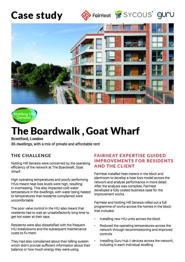 The Boardwalk, Goat Wharf
