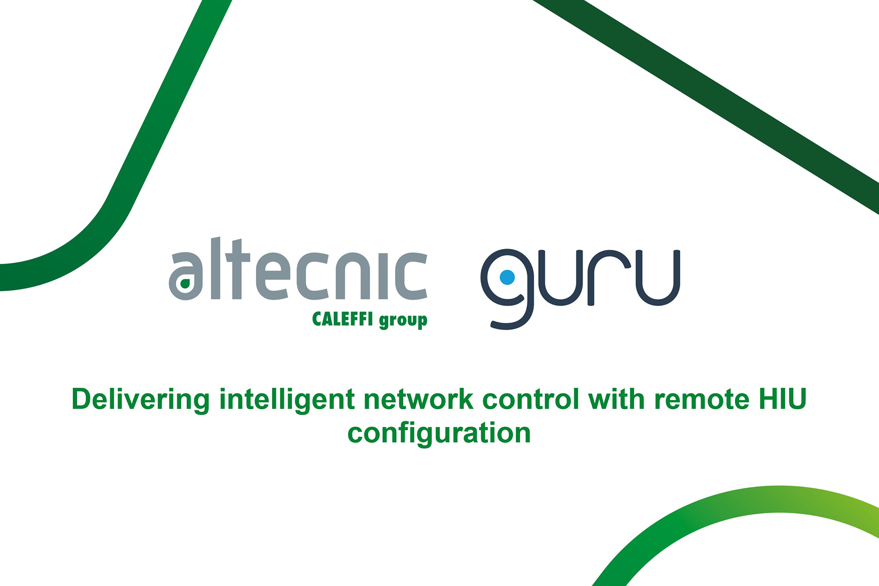 Webinar: Delivering intelligent network control with remote HIU configuration